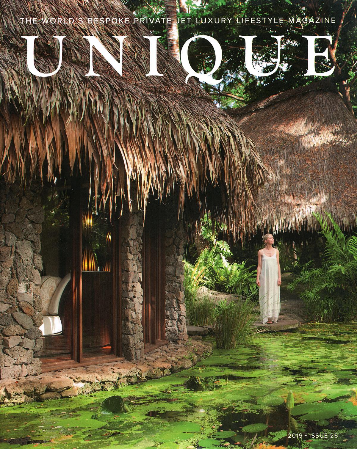 Bespoke Private Jet Luxury Lisfetyle Magazine - UNIQUE