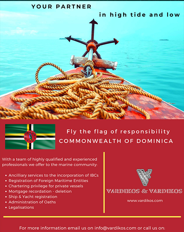 Ship & Yacht Registration Services in the Commonwealth of Dominica Services