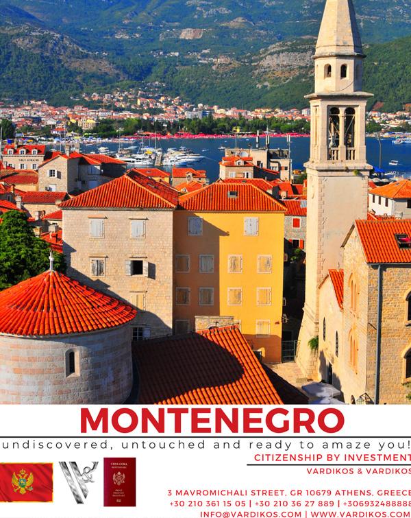 Montenegro Citizenship by Investment Programme - Cost, Benefits & Requirements - Vardikos & Vardikos
