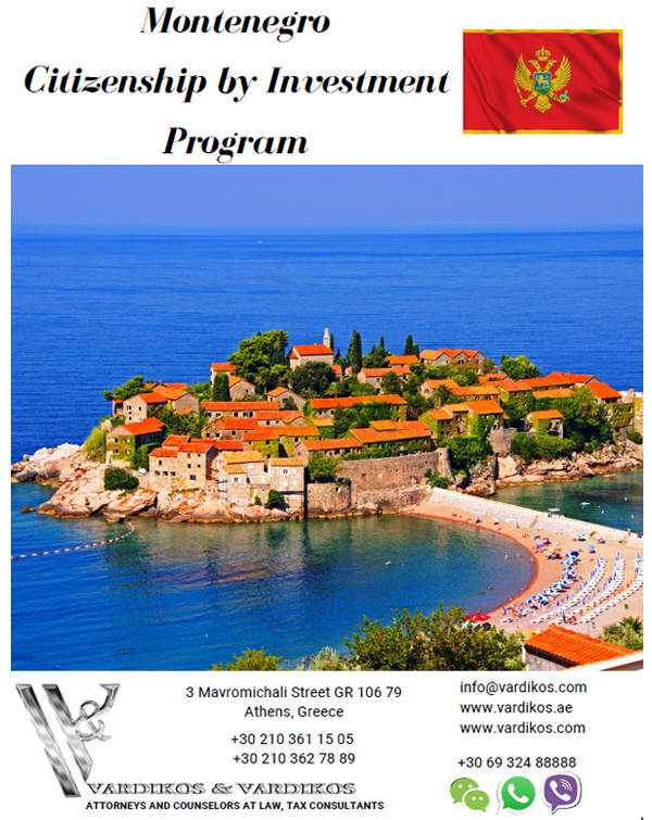 Montenegro Citizenship by Investment Programme- Cost, Benefits, Application Requirements