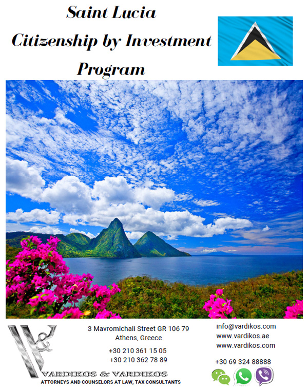 Saint Lucia Citizenship by Investment Programme- Cost, Benefits, Application Requirements