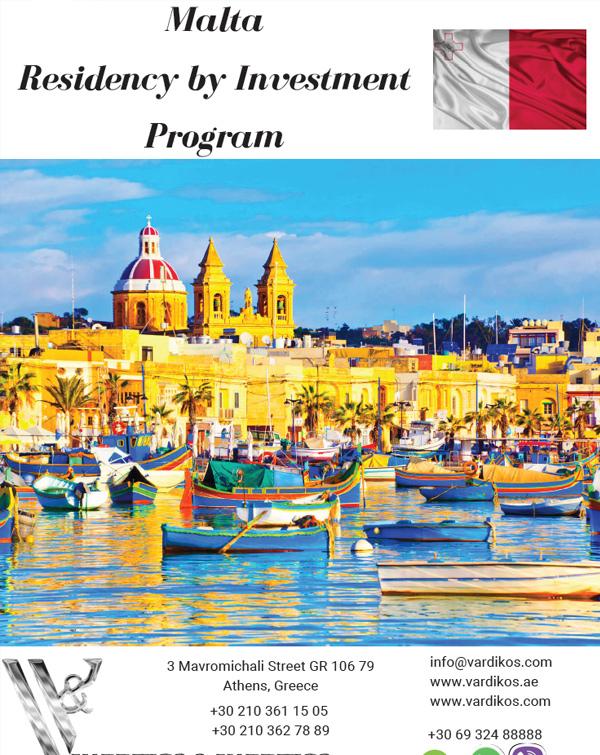 Malta Residency by Investment Program